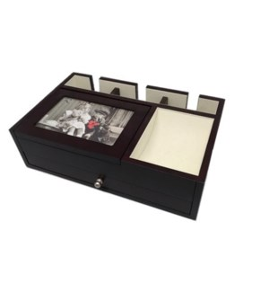 Valet Box w. Picture Frame