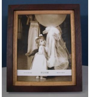 """Two-Tone Wood Frame 8x10"""""""