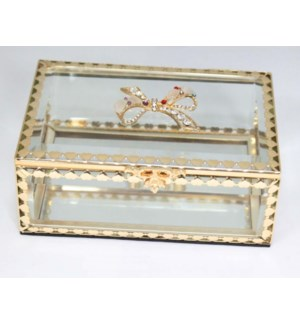 Glitzy Ribbon Jewelry Box
