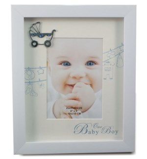 It's A Boy Picture Frame 4x6""