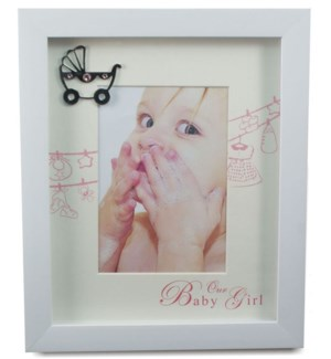 It's A Girl Picture Frame 4x6""