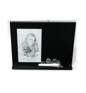 "Frame w. Chalk Board & Magnets 4x6"""