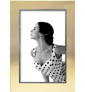 Satin Gold Finish Jolene Frame 4x6""