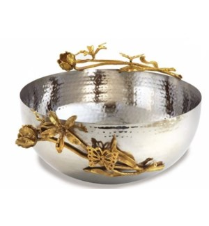 Gold Butterfly SS Bowl