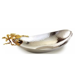 Gold Butterfly SS Boat Bowl