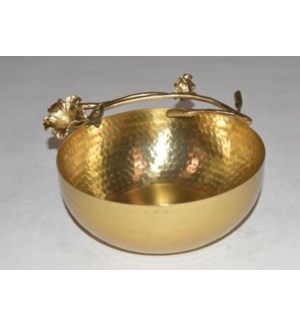 Satin Gold Eldora Bowl