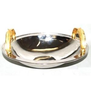 Gold Feather NiP/GP Bowl
