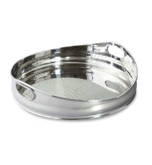 SS Round Serving Tray
