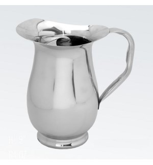 SS Water Pitcher w. Ice guard