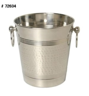 SS Champagne Bucket Hammered