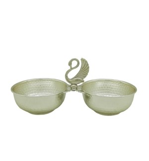 Swan Double Bowl