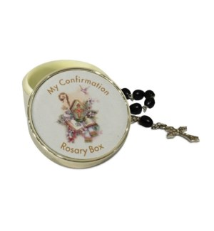 SP Confirmation Rosary Box w. Rosary