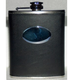 Pu Wrap Flask