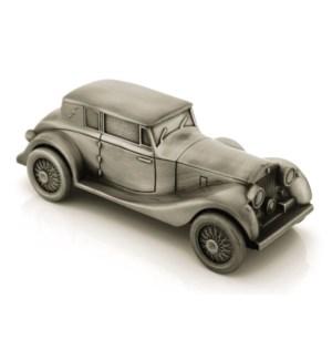 Pewter Finish Antique Car Money Bank