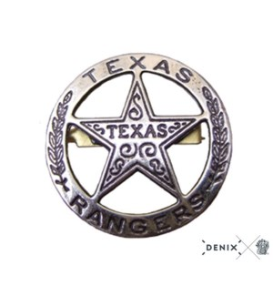 Replica Silver Texas Ranger Badge