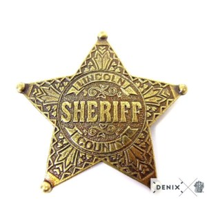 Replica Five Point Ball Tipped Star Badge