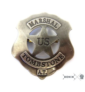 Replica Us Marshall Tombstone Badge