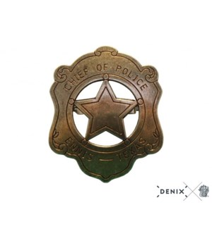 Replica Chief of Police Badge