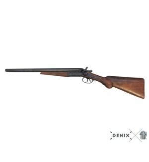Replica Wyatt Earp Rifle, Double Cannon Clipped Shotgun