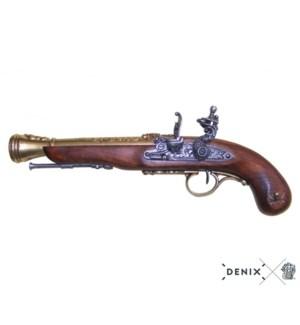 Replica Flintlock Pirate Pistol, Left-Handed