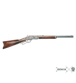 """Replica """"73"""" Winchester Rifle, 44-40 Caliber"""