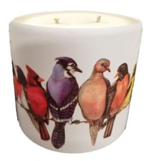 Bird Candle Pot