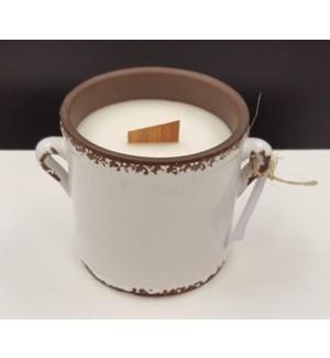 Large Crock Candle