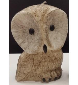 Owl Candle - Large