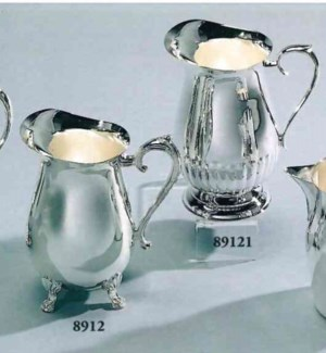 Silver Plated Footed Water Pitcher