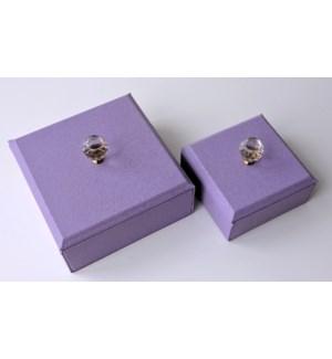 Blowout Lavender Jewel Box 2pc Set