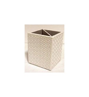 Blowout Synthia White Pen Accessory Stand