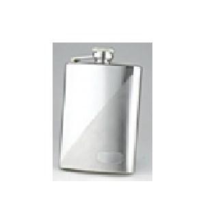 Diagonal Matte & Shiny Flask