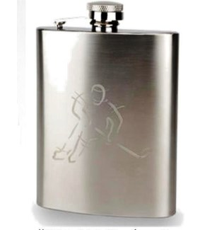 Hockey Flask & Funnel Set