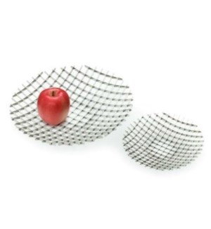 Stainless Steel Trays, Set of 2