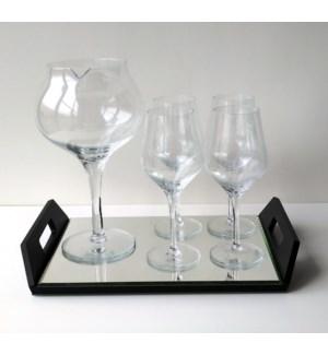 6 pc. Wine Decanter Set