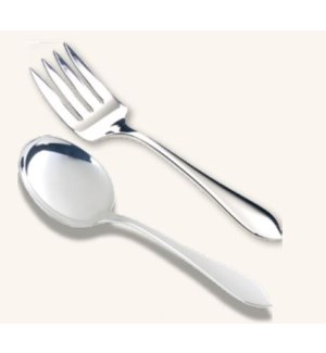 Plain Pointed Fork & Spoon Set