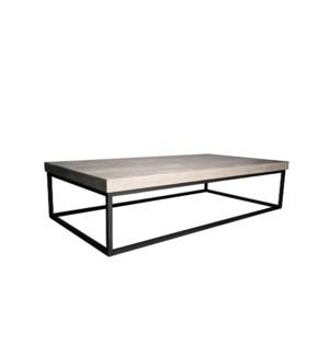 Marin Coffee table, Small RL Top