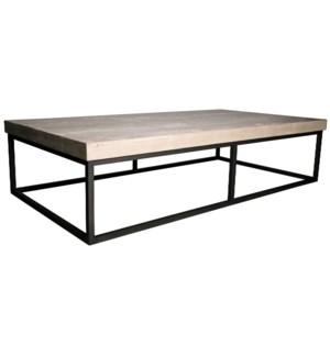 Marin coffee table, RL top