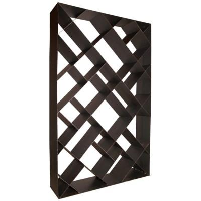 Diagonal bookcase