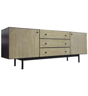 Dashing Cabinet, Reclaimed Lumber Drawer-Fronts