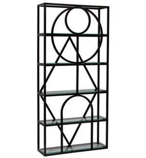 Prism bookcase