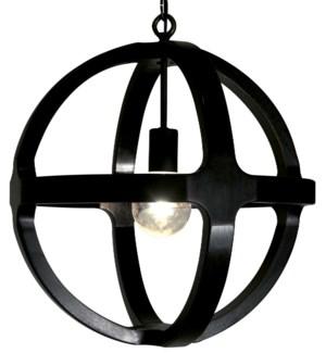 Dixon Walnut Lantern, Small