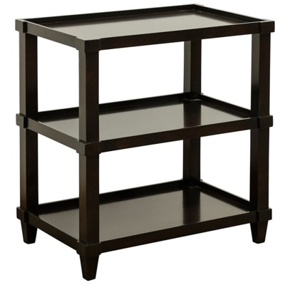 Carlsbad Side Table, Straight