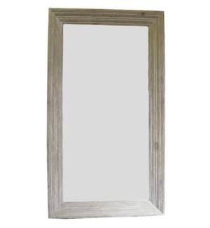 Reclaimed Lumber Floor Mirror