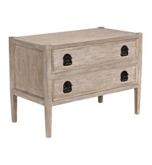 Reclaimed Lumber Lewis 2-drawer Nightstand