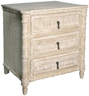 Reclaimed lumber Valdez nightstand