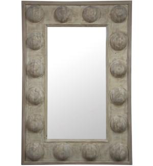 Reclaimed Lumber Boulder Mirror