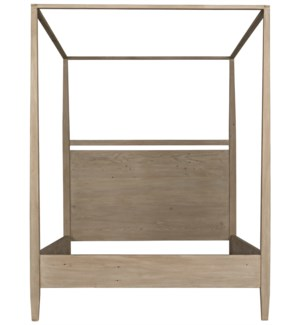 Soledad 4-Poster Bed, OW, Cal King