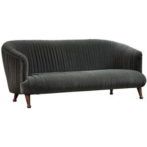 Bertha Sofa, Walnut Legs
