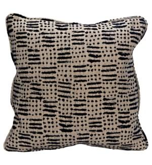Plain Pillow - Grade B Fabric, 18 x 18